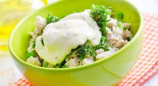 Сытный и питательный салат