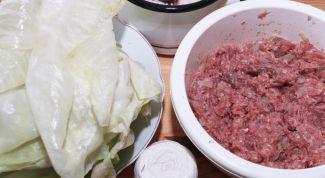 Вкусно и полезно: фаршированная белокочанная капуста