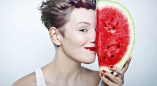 Как использовать арбуз в косметических целях
