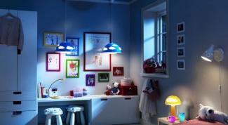 Как выбрать потолочные светильники в детскую комнату