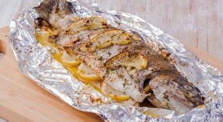 Правила запекания рыбы в духовке