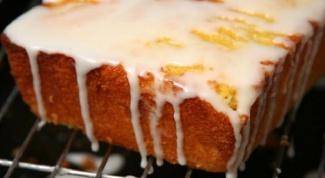 How to make glaze from sour cream