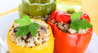 How is stuffed peppers