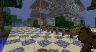 How to make a gate in Minecraft