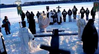 Святая вода. Освящение воды на Крещение