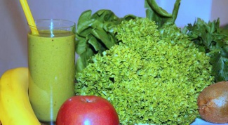 Green smoothies: recipes