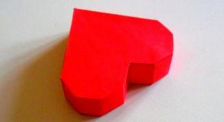 Как сделать коробочку-сердечко своими руками