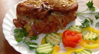 Как приготовить пикантные мясные кармашки с овощным гарниром