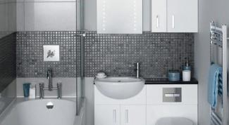 Маленькая ванная комната: как оформить интерьер