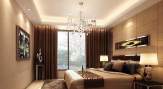 Коричневая спальня поможет обрести вам спокойствие