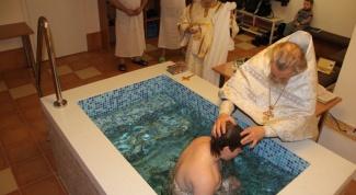 Нужны ли крестные родители при крещении взрослого человека
