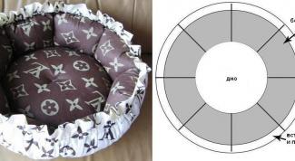 Мягкий лежак для домашнего животного
