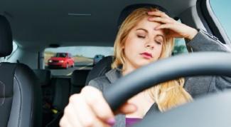 Как не уснуть за рулем автомобиля
