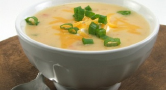 How to cook soup with smoked ham and cheese