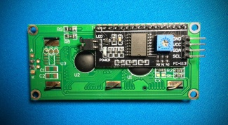 How to connect a LCD display with I2C module for Arduino