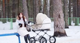 Как не замерзнуть на прогулке с коляской