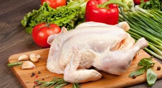 Как легко разделать курицу
