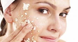 Как сделать скраб для лица из риса и меда