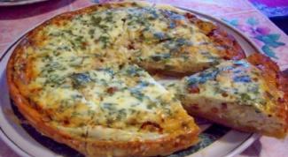Как приготовить вкуснейший пирог с сыром и зеленью