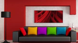 Основные правила сочетания цветов в интерьере