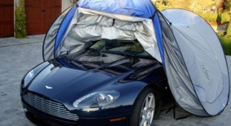 Правила безгаражного хранения автомобиля