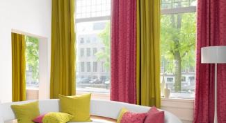 Фасоны штор для кухни, гостиной и спальни
