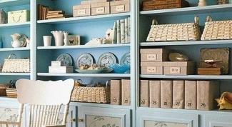 Как обычный шкаф сделать винтажным своими руками?