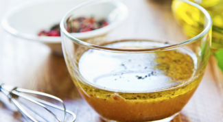 Как приготовить французскую заправку для салата
