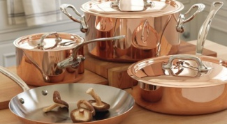 Какие свойства у медной посуды?
