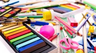 Что собрать ребенку в художественную школу