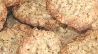 Рецепт полезного печенья из овсяных хлопьев