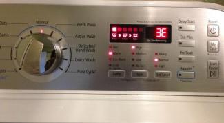 Коды ошибок стиральных машин LG