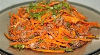 """Салат """"Мясо по-корейски"""""""