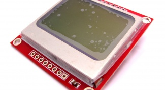 How to connect a LCD display for Nokia 5110 for Arduino