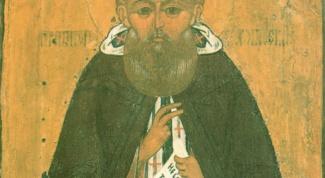 Краткое житие преподобного Павла Обнорского Комельского