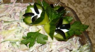 Салат на Новый год «Зимушка»