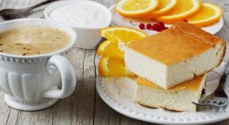 Как приготовить апельсиновый творожник