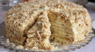 """Простой рецепт торта """"Наполеон"""""""