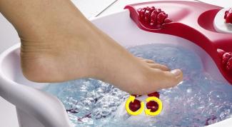 Гидромассажная ванночка для ног - удобный и функциональный прибор