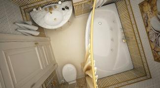 Несколько простых идей, как обустроить маленькую ванную комнату