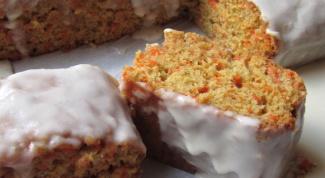Как приготовить пряный морковный пирог