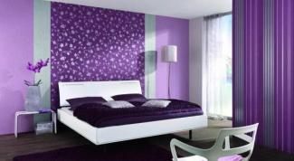 Обои в интерьере спальни: сила влияния цвета