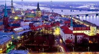 Панорамные рестораны Риги