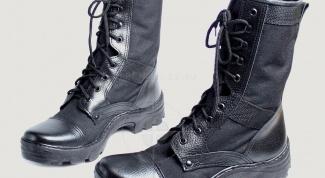 Армейские штучки. Как правильно ухаживать за берцами