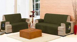 Как сшить удобный чехол на диван