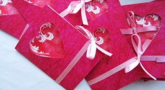 Как сделать красивую валентинку своими руками из бумаги