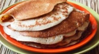 Овсяные оладьи - вкусный и полезный завтрак