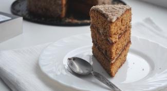 """Как приготовить торт """"Рыжик"""" из детства"""