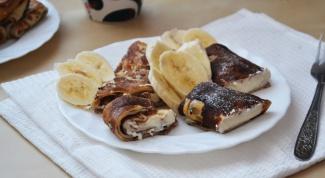 Как приготовить вкуснейшие блинчики с творожной начинкой