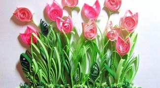 Открытка для бабушки на 8 марта своими руками
